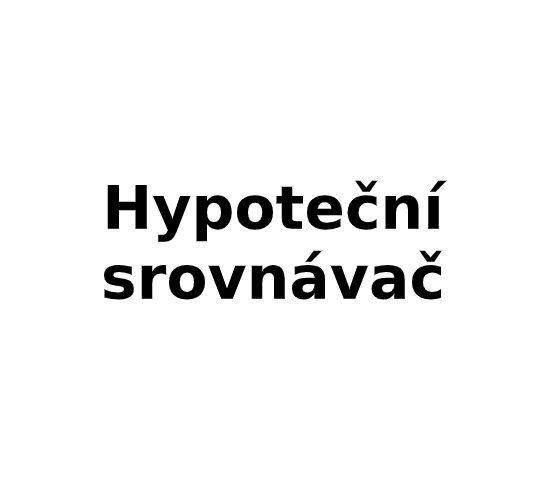 Hypoteční srovnávač